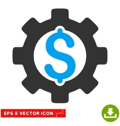 Development cost eps icon vector