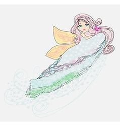little love fairy vector image