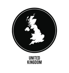 Map icon united kingdom design graphic vector