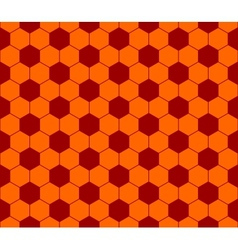 Seamless football pattern red orange eps 10 vector