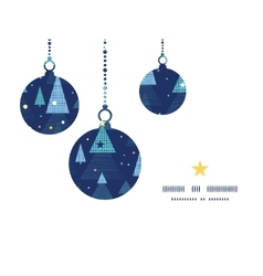 Abstract holiday christmas trees christmas vector