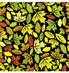 autumn leaf colored seamless vector image