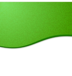 Green and White Waves Blank Abstract Background vector image vector image
