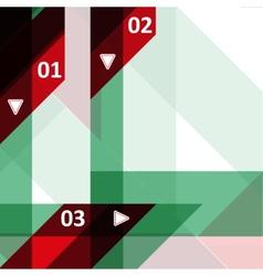 High tech design for infographics vector