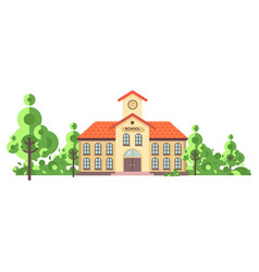 isolated back to school vector image