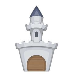 Medieval royal castle icon cartoon style vector image vector image