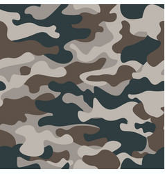 Modern fashion trendy camo patternclassic vector