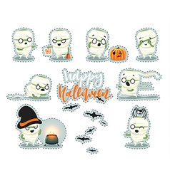 Celebration happy halloween vector