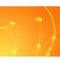 Sunburst hightech template vector