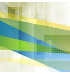 Colorful grunge technology background vector