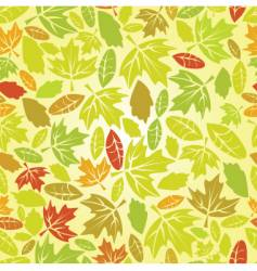 autumn leaf seamless vector image