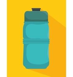 bottle water design vector image