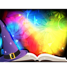 Fairytale background vector image