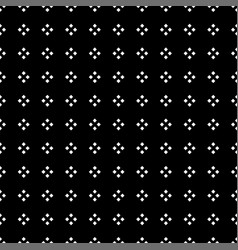 white square diamond on black background vector image vector image