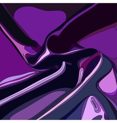 Violet abstract satin curtain background vector