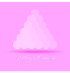 Merry Christmas graphic design - abstract backgrou vector image vector image