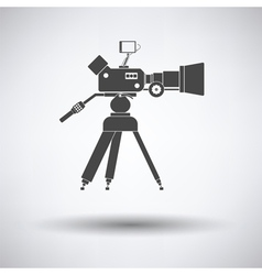 Movie camera icon vector image vector image
