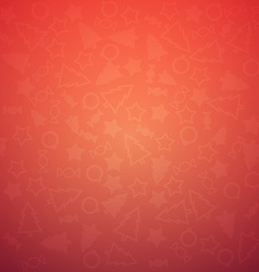 Colorful Christmas Background Pattern vector image vector image