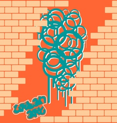 Cool graffiti vector