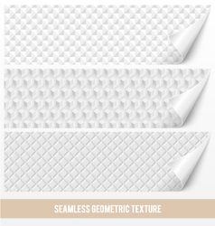 Seamless geometric texture vector