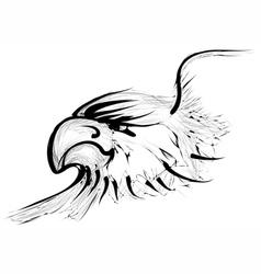 Golden eagle vector