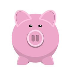 icon of pig bank vector image