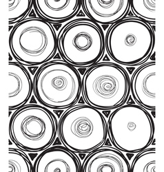 round seamless vector image vector image