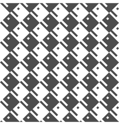 Seamless geometric pattern regular tiled ornament vector