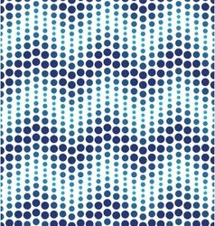 Blue geometrical circle pattern vector image