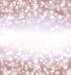 Navidad winter background with snowflakes and copy vector