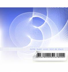 security background vector image