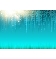 Abstract binary code background vector