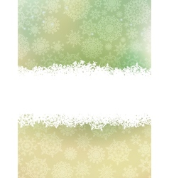 Beige christmas with snowflake EPS 10 vector image vector image