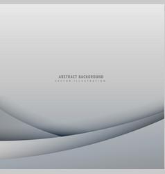 Elegant minimal gray background vector