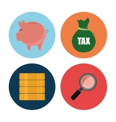 Goverment taxes payday vector image