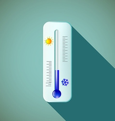 Thermometer stock vector