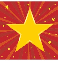 Star holiday background vector