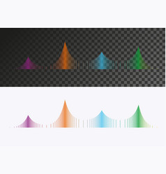 Colored sound wave vector