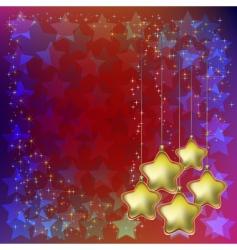 fantasy christmas vector image vector image