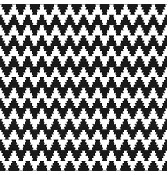 Zigzag cloth pattern - seamless vector