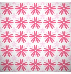Light summer pattern tiling fond pink and white vector