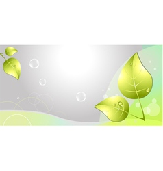 Abstract eco background vector