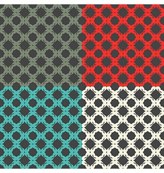 Bright pattern number 3 vector image vector image