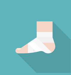 Injury ankle vector