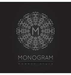 Monogram icon 56trd vector