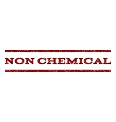 Non chemical watermark stamp vector