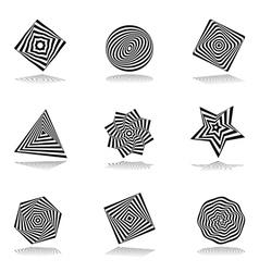 Design elements set 211 vector image