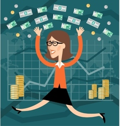 Financial success vector