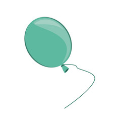 isolated balloon cartoon vector image