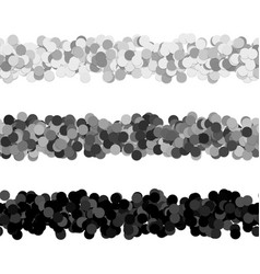 Repeatable dot pattern page dividing line design vector